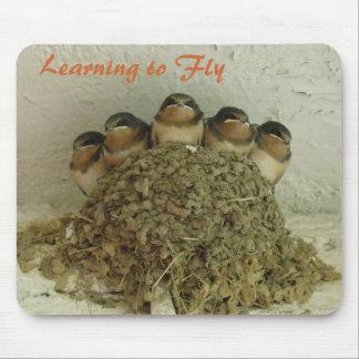 Aprendizaje volar tapetes de ratón