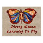 Aprendizaje volar tarjetas postales