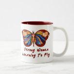 Aprendizaje volar tazas de café