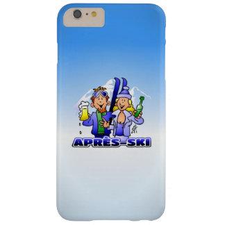 Après-esquí - deportes de invierno funda barely there iPhone 6 plus