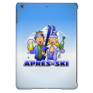 Après-esquí - deportes de invierno funda para iPad air