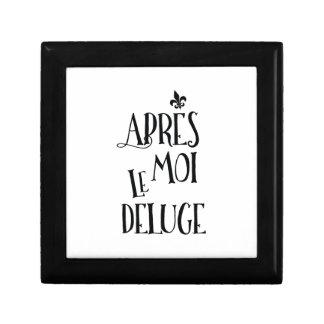 Apres Moi Le Deluge - Funny Retirement Gift Box