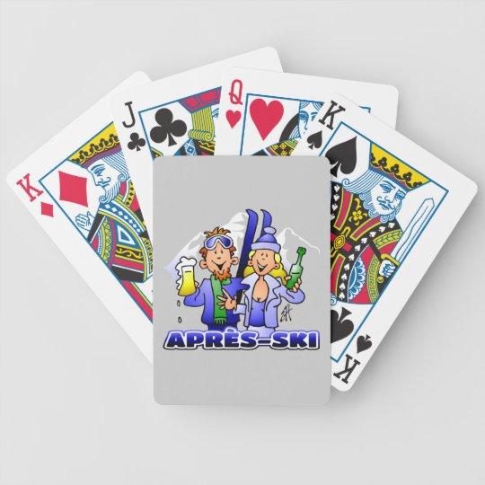 Après-ski Bicycle Playing Cards