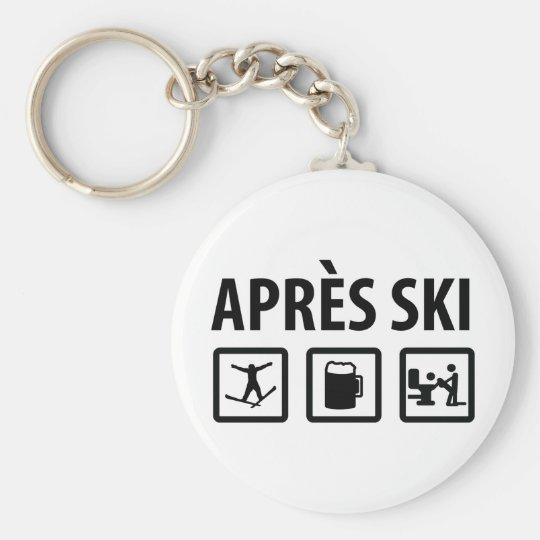 apres ski keychain