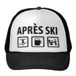 apres ski mesh hat