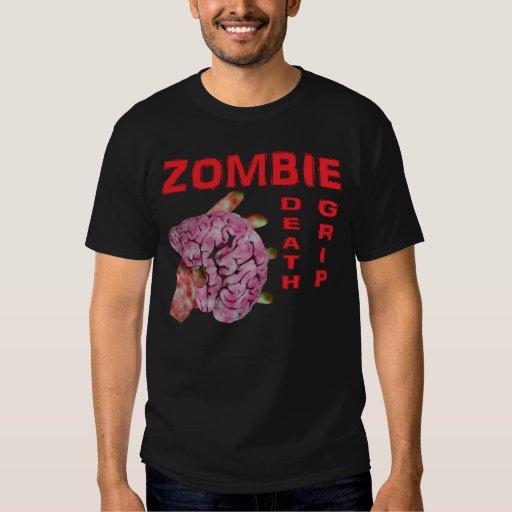 Apretón de la muerte del zombi poleras