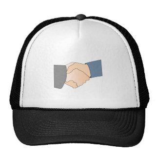 Apretón de manos gorras