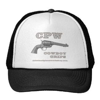 Apretones del vaquero de CPW Gorros Bordados