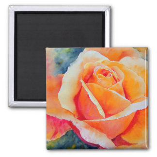Apricot 2 Inch Square Magnet