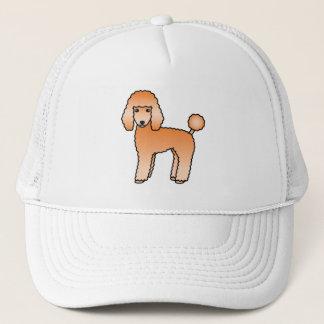 Apricot Adorable Standard Poodle Dog Trucker Hat