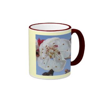 Apricot Blossom Macro Ringer Mug