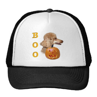 Apricot Coated Poodle Boo Mesh Hat