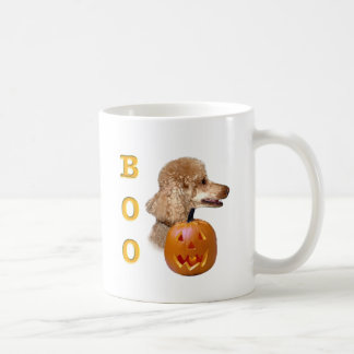 Apricot Coated Poodle Boo Coffee Mugs