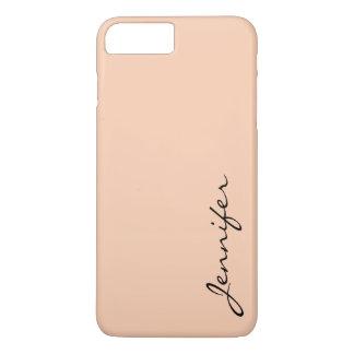 Apricot color background iPhone 8 plus/7 plus case