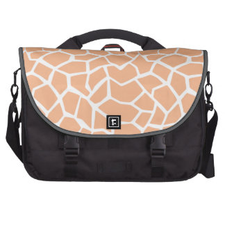 Apricot Color Giraffe Animal Print Commuter Bags