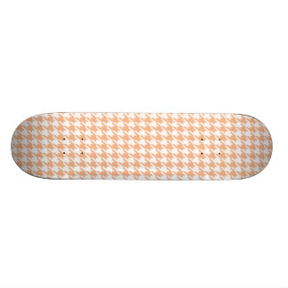 Apricot Color Houndstooth Skate Board Deck