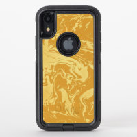 Apricot - custom OtterBox commuter iPhone XR case