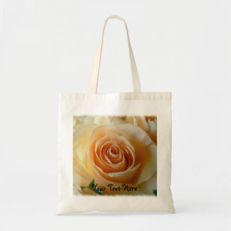 Apricot Garden Rose Mothersday Bag/Tote