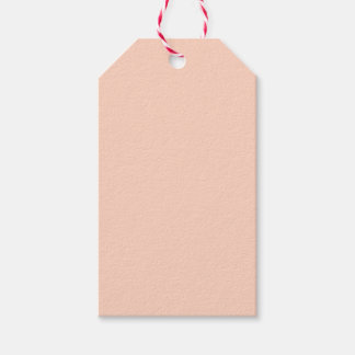 Apricot Pack Of Gift Tags