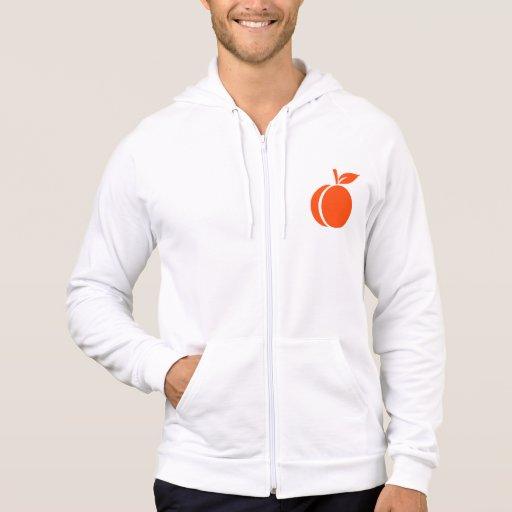 Apricot Hooded Sweatshirt