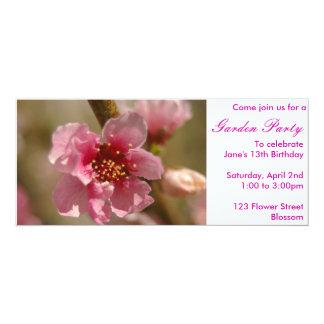Apricot invitation