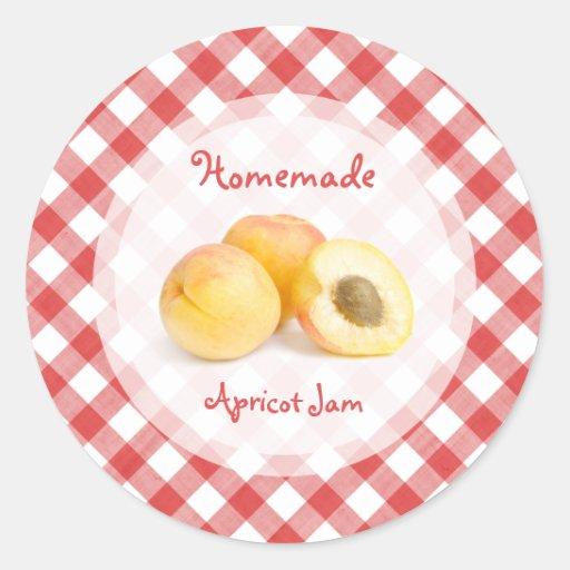 Apricot Jam sticker
