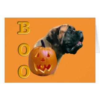 Apricot Mastiff Boo Card