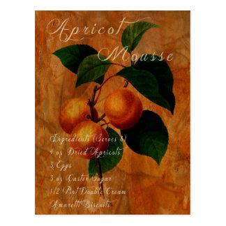 Apricot Mousse Postcard