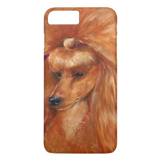 Apricot poodle iPhone 7 plus case