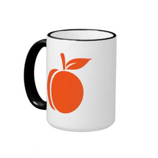 Apricot Ringer Coffee Mug