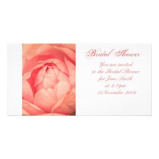 Apricot Rose - Bridal Shower Invitation