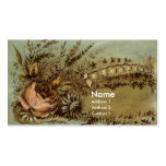 Apricot Rose & Lily of the Valley Victorian Double-Sided Standard Business Cards (Pack Of 100)