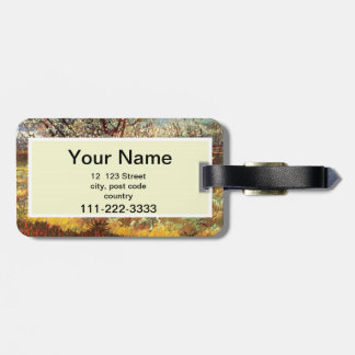 Apricot Trees in Blossom by Van Gogh Bag Tag