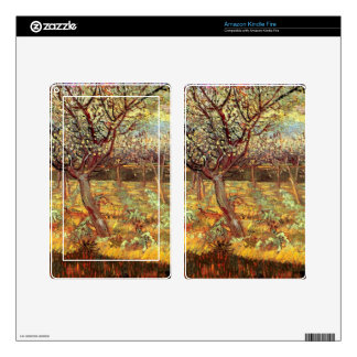 Apricot Trees in Blossom by Van Gogh Decal For Kindle Fire