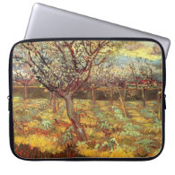 Apricot Trees in Blossom by Van Gogh Laptop Computer Sleeves