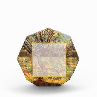 Apricot Trees in Blossom, Vincent van Gogh.  Vinta Acrylic Award