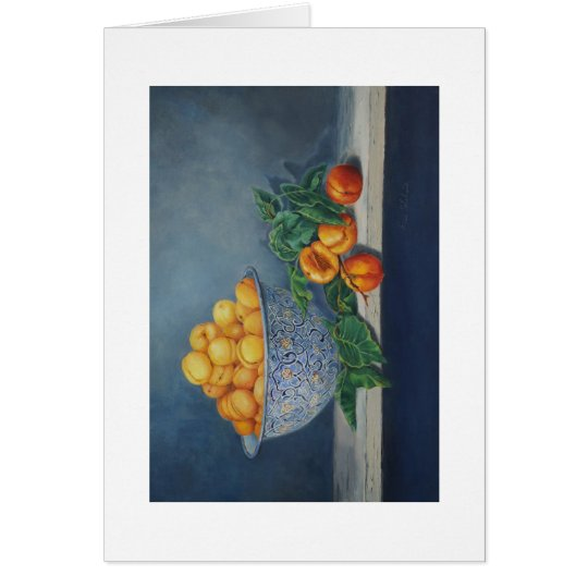 Apricots and Peaches Greeting Card