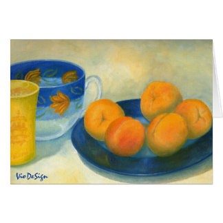 apricots greeting cards