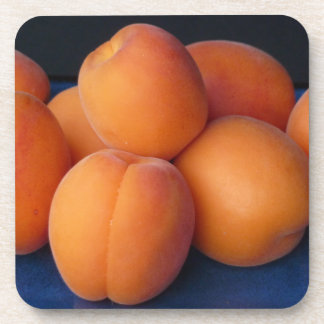 Apricots Plastic Coasters (set of 6)
