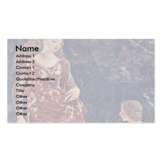 April [04]-Triumph Of Venus By Cossa Francesco Del Double-Sided Standard Business Cards (Pack Of 100)
