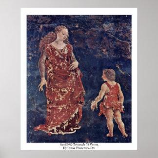 April [04]-Triumph Of Venus By Cossa Francesco Del Print