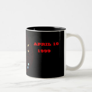 APRIL 10, 1999 Two-Tone COFFEE MUG