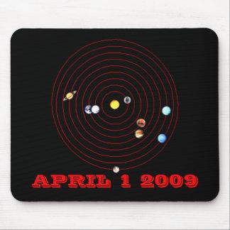 April 1,  2009 mouse pad