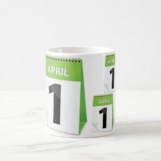 April 1st Calendar Mug