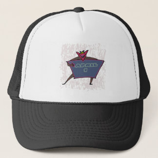 April 1st trucker hat