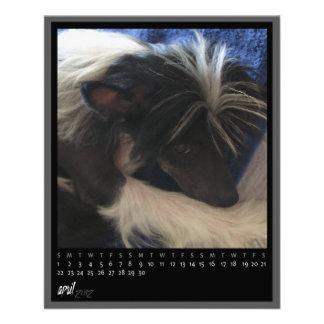 april 2012 calendar flyer