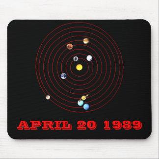 APRIL 20 1989 MOUSE PAD