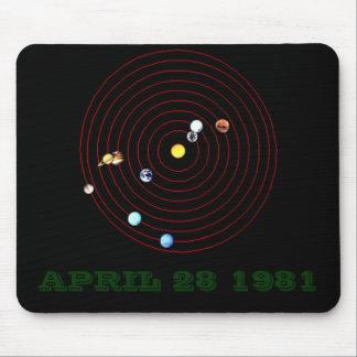 APRIL 28 1981 MOUSE PAD