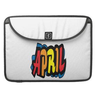 April 2 sleeve for MacBooks