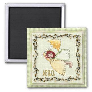 April Angel / Fairy Month Magnet